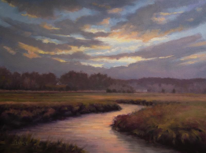 Eamescreative New England Landscape Paintings